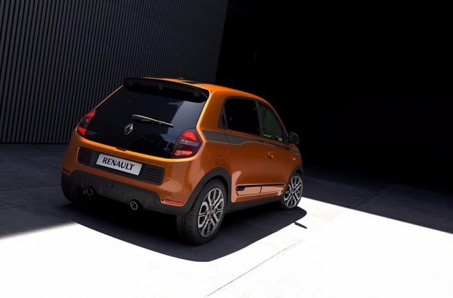 Renault Twingo GT - posterior