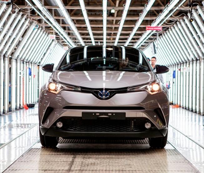 Toyota C-HR - producción