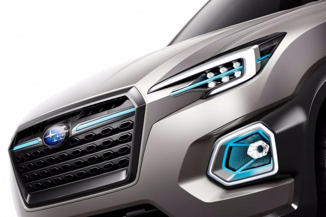 Subaru VIZIV-7 Concept - frontal