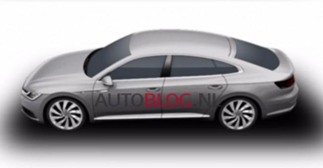 Volkswagen CC 2018 - imagen filtrada