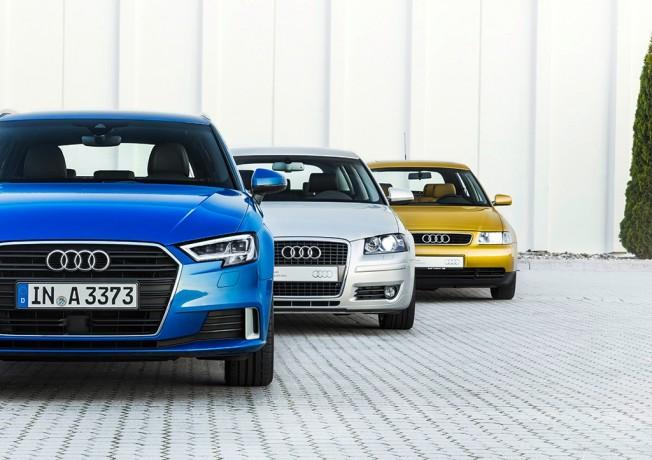 Audi A3 - tres generaciones