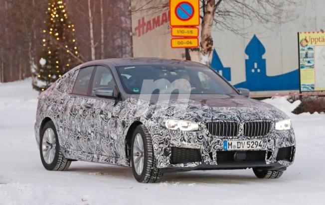 BMW Serie 6 GT M Sport - foto espía