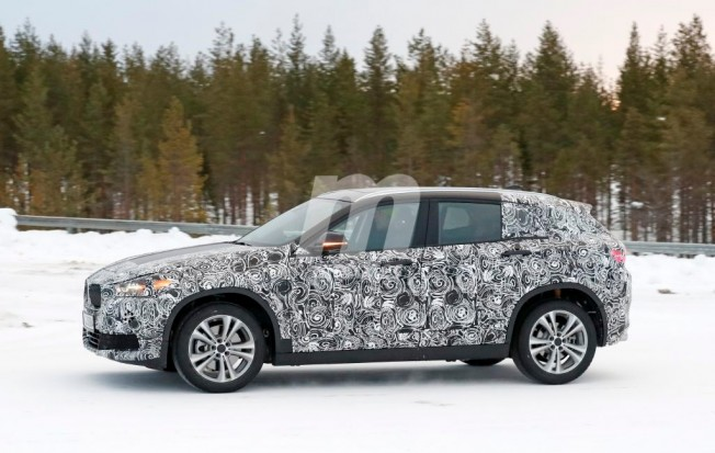 BMW X2 - foto espía