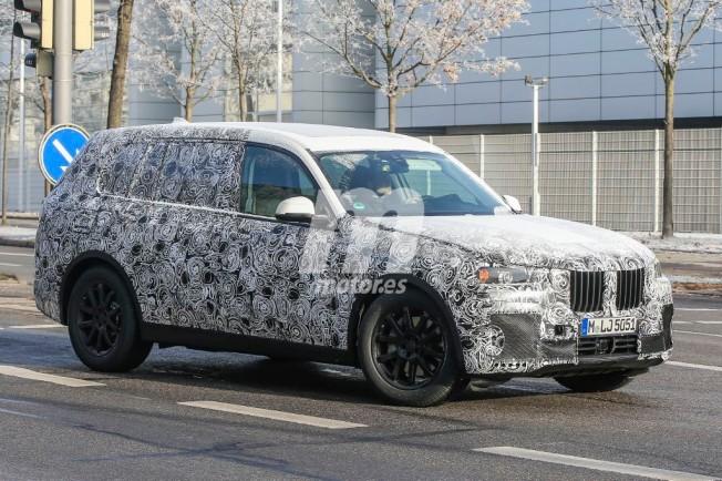 BMW X7 2018 - foto espía