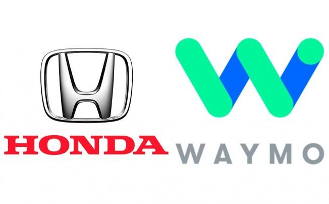 Honda y Waymo - logos