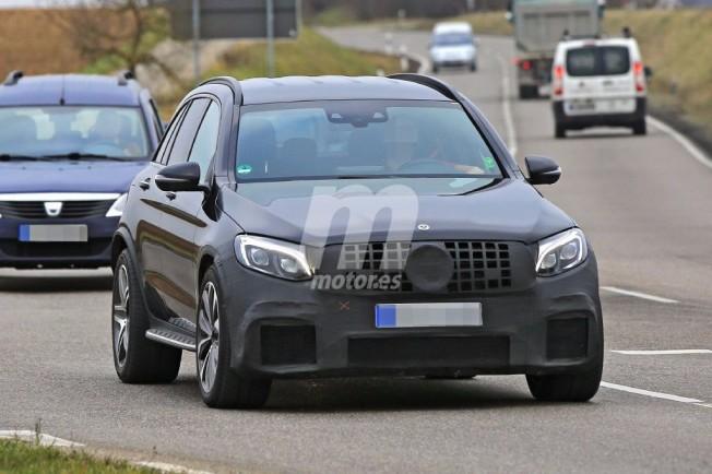 Mercedes-AMG GLC 63 2017 - foto espía