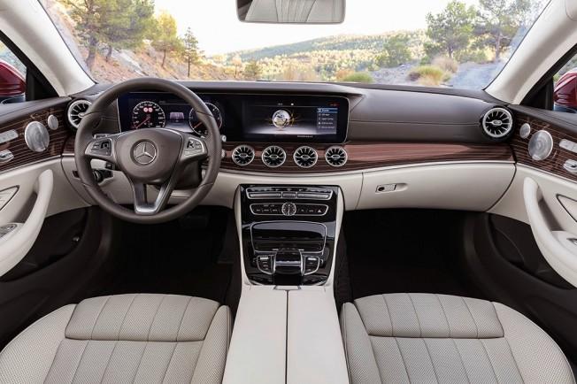 Mercedes Clase E Coupé 2017 - interior