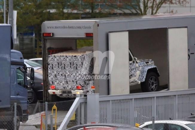 Mercedes G4X4 Largo 2018 - foto espía