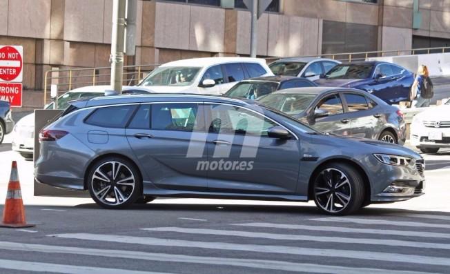 Opel Insignia Sports Tourer 2018 - foto espía