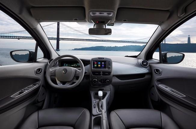 Renault Zoe 2017 - interior