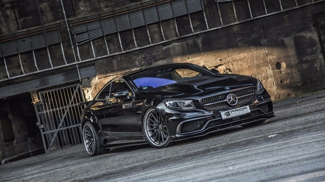 Mercedes Clase S Coupé por Prior Design