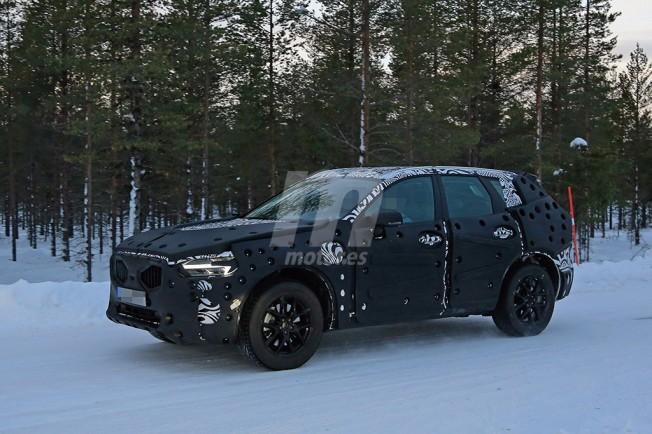 Volvo XC60 2017 - foto espía
