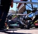 ¿Seguirá la rueda de Bottas en el coche? Mercedes no pudo sacarla en Mónaco