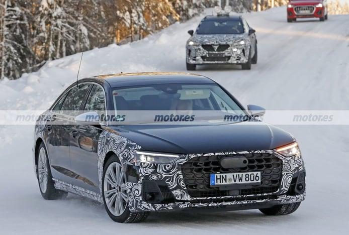Fotos espía Audi S8 Facelift 2022 - exterior