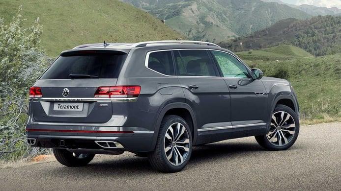 Volkswagen Teramont 2021 - posterior
