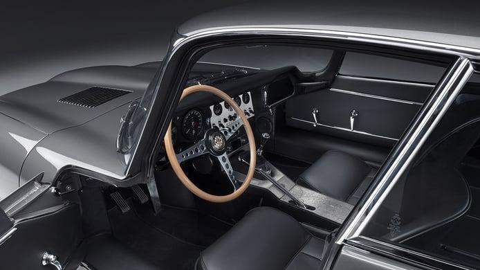 Jaguar E-Type 60 - interior