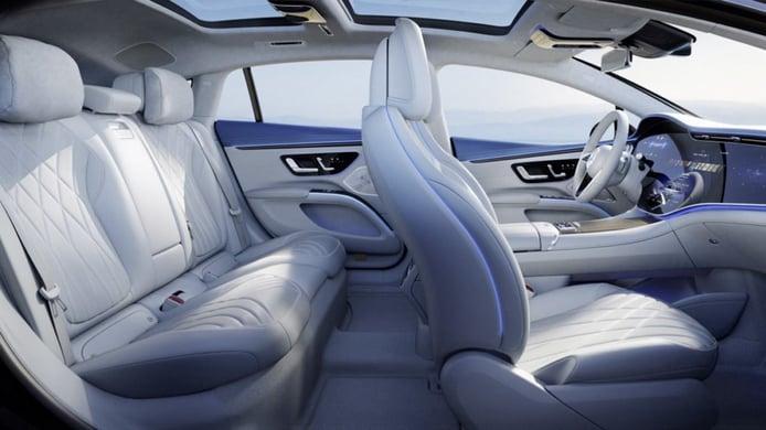 Mercedes EQS - interior