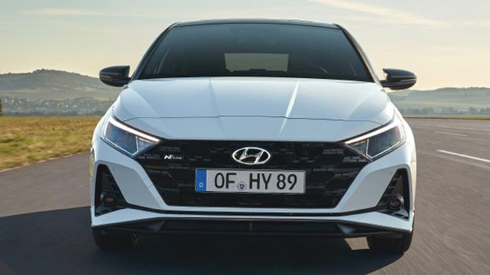 Hyundai i20 N Line X - frontal