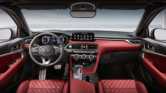Genesis G70 Shooting Brake - interior