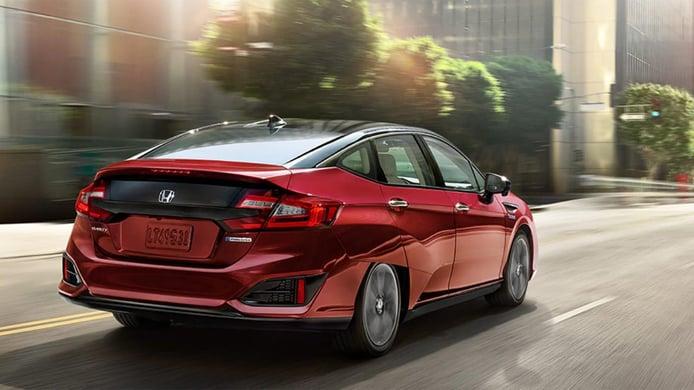 Honda Clarity Fuel Cell - posterior