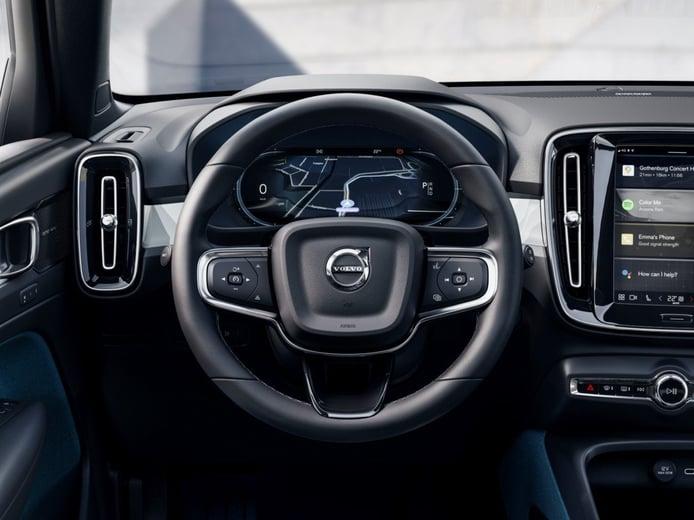 Foto Volvo C40 Recharge Twin - interior