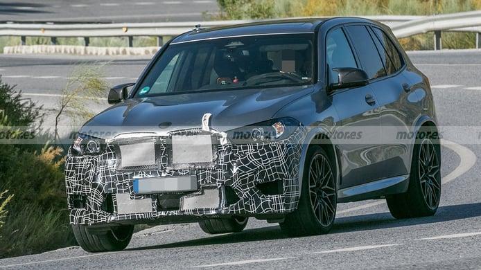 BMW X5 Competition - foto espía