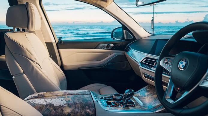 BMW X7 Nishijin Edition - interior