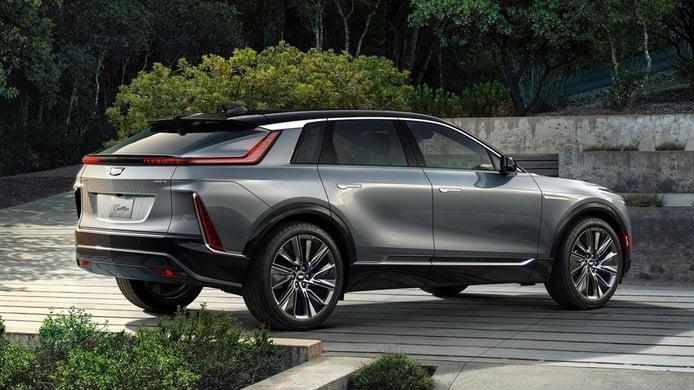 Cadillac Lyriq - posterior