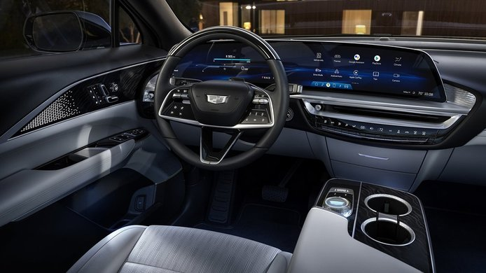 Cadillac Lyriq - interior