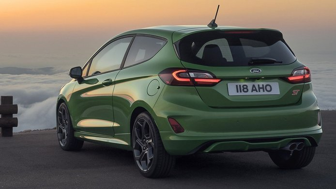 Ford Fiesta ST 2022 - posterior