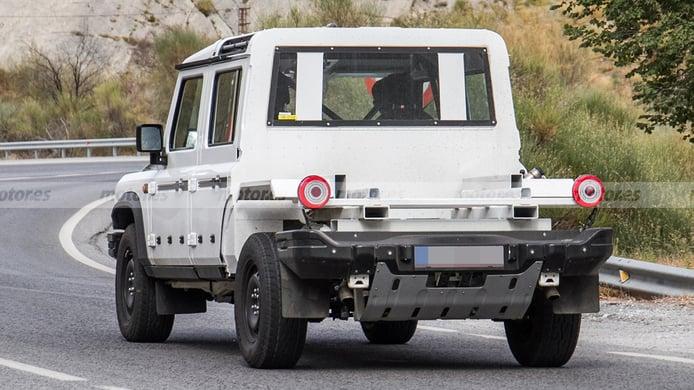 INEOS Grenadier Pick-up - foto espía posterior