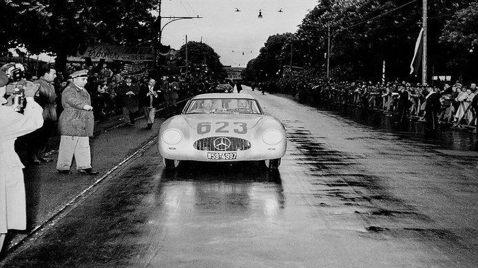 Karl Kling en la Mille Miglia de 1952