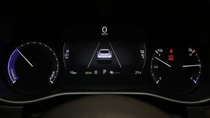 Mazda CX-30 EV - interior