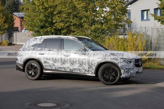 Foto espía Mercedes GLC 2022 - exterior