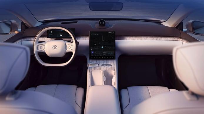 Nio ET7 - interior