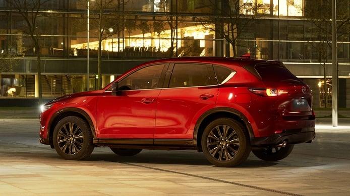 Mazda CX-5 2022 - posterior