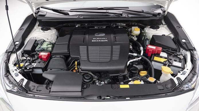 Subaru Impreza EcoHybrid - motor