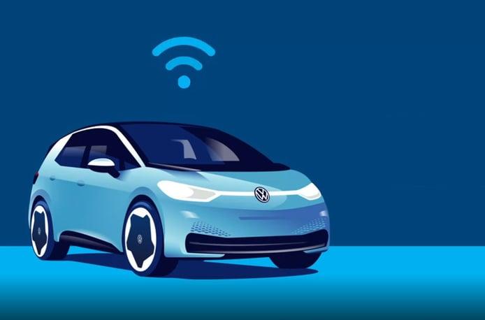 Foto Volkswagen actualizaciones inalámbricas - tecnología