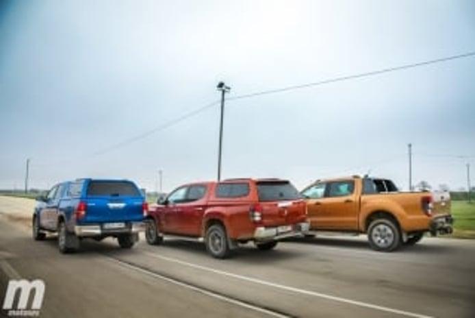 Foto 2 - Fotos Toyota Hilux vs Ford Ranger vs Mitsubishi L200