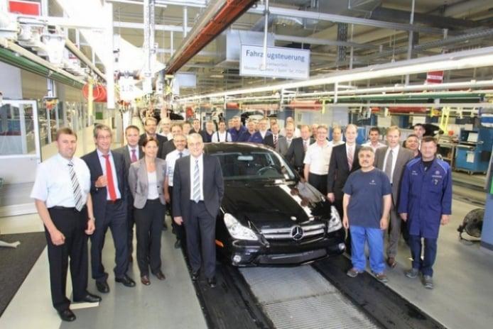 Adiós al viejo Mercedes Benz CLS