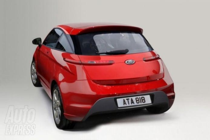 Así podría verse el nuevo Ford Ka