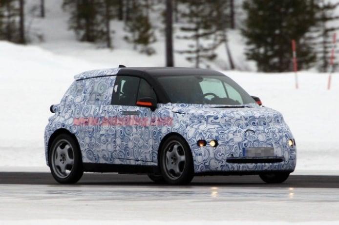 BMW i3. Fotos espía