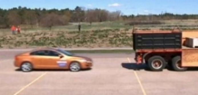 Bochornosa presentación para el City Safety de Volvo.