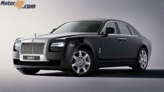 Concept Rolls-Royce 200EX para el Salón de Ginebra