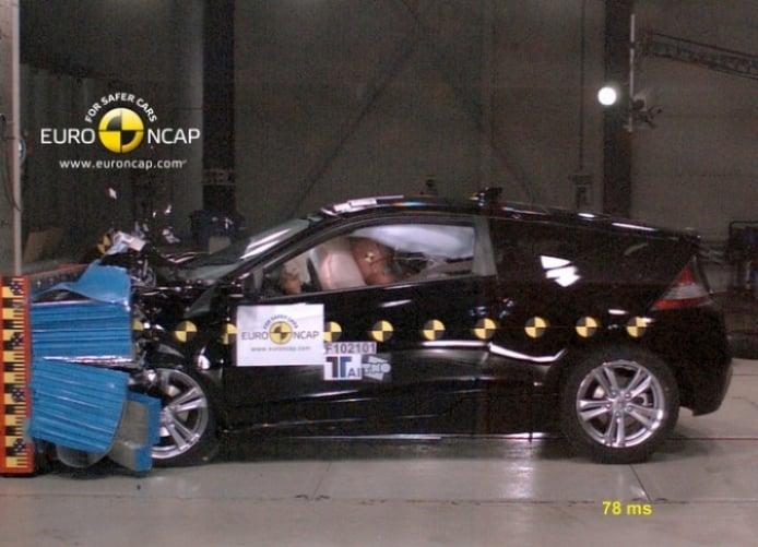 El Honda CR-Z logra la maxima calificación de la EuroNCAP.