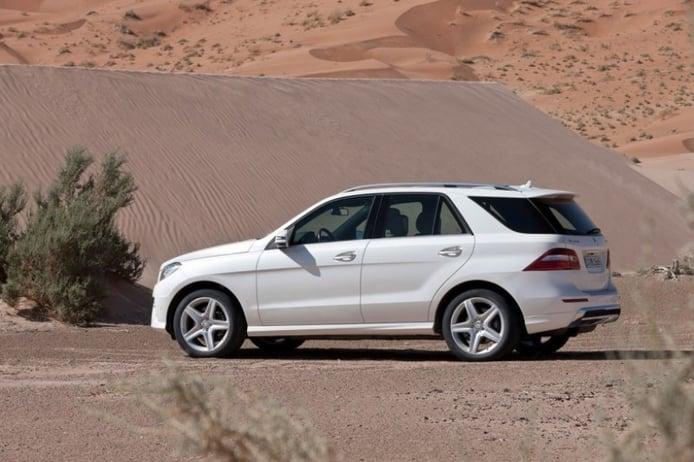 El Mercedes ML 2012 se presenta en video