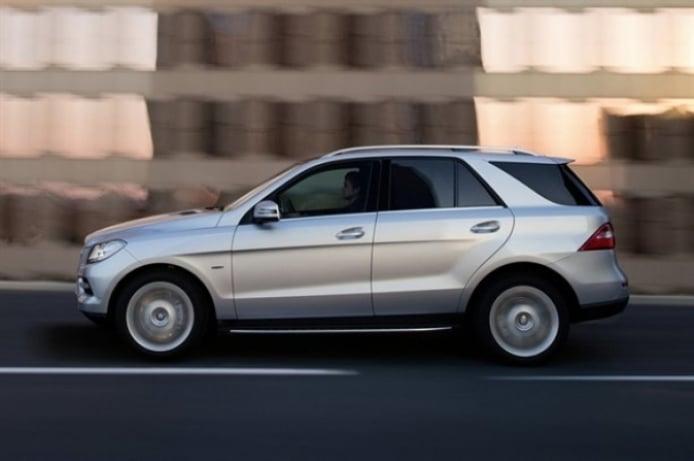 El Mercedes ML 2012 ya es oficial...a medias