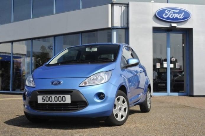 Ford Ka, más de medio millón de unidades vendidas en el Reino Unido