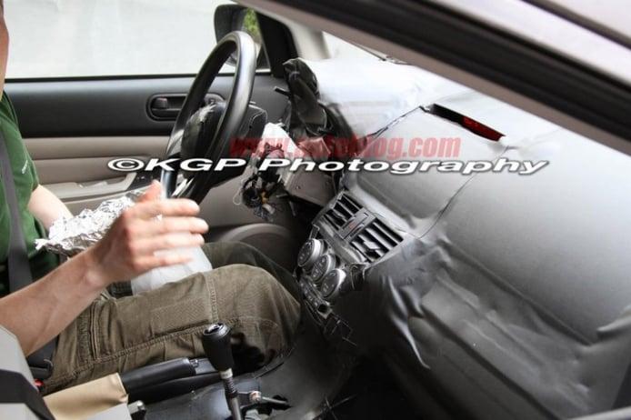 Fotos espía del Mazda CX-5