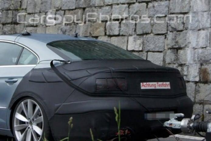 Fotos espía del Volkswagen Passat CC 2012